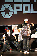 The Cast of Ballerina who loves B-Boys at the South Pole Fashion show during ' The Stay in School Concert ' facilated by Entertainers for Education held at The Manhattan Center on October 28, 2008 in New York City