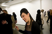 MAUREEN PALEY, Rebecca Warren exhibition opening at the Serpentine Gallery. London.  9 March  2009 *** Local Caption *** -DO NOT ARCHIVE -Copyright Photograph by Dafydd Jones. 248 Clapham Rd. London SW9 0PZ. Tel 0207 820 0771. www.dafjones.com<br /> MAUREEN PALEY, Rebecca Warren exhibition opening at the Serpentine Gallery. London.  9 March  2009