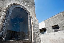 Periferia Vignacastrisi (frazione di Ortelle) Lecce.Statuetta di San Francesco