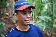 Nasir, an Iban guide in Ulu Temburong National Park, Brunei