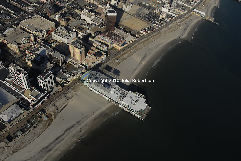 Aerial view of Atlantic City New Jersey