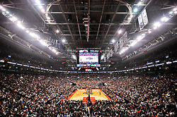 October 19, 2018 - Toronto, Ontario, Canada - panoramic view of the basketball court during the Toronto Raptors vs Boston Celtics NBA regular season game at Scotiabank Arena on October 19, 2018 in Toronto, Canada (Toronto Raptors win 113-101) (Credit Image: © Anatoliy Cherkasov/NurPhoto via ZUMA Press)