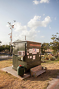 Texas university professor moves into a DUMPSTER on school campus for a year to show students that they can live with less<br /> <br /> A university professor in Austin, Texas, has moved into a 33sq ft dumpster, which he plans to call home for an entire year.<br /> Dr. Jeff Wilson, a Harvard-educated environmental science professor, took up residence in the trash can Tuesday in an effort to show students at Huston-Tillotson University, and the world, that humans can live on a smaller scale and lessen our environmental impact.<br /> Thankfully for Wilson, who's now known as Professor Dumpster, his new home isn't your ordinary smelly dumpster but will be getting kitted out by his students so it includes creature comforts like a shower, kitchen, bed, WiFi and toilet.<br /> <br /> <br /> Outfitting the tiny space is step one in the trash can challenge, and the goal is to design the dumpster to be as energy efficient as possible, with solar panels and an energy producing toilet.<br /> 'The idea here is to ultimately show one can have a pretty good life in a dumpster<br /> <br /> <br /> However, the dumpster is starting off modestly. Tuesday night, the 6ft 1in Professor Dumpster posted a picture of his new abode on Twitter with a maroon sleeping bag laid out tightly in the small space with little else in view.<br /> If occasionally Wilson needs a break from the box, students can opt to take his place for the night.<br /> One student, Evette Jackson, has already signed up.<br /> <br /> <br /> 'I think it's pretty intriguing,' she told KVUE. 'It's pretty cool. I want to live in it too.'<br /> After the year of dumpster living is up, Wilson plans on taking the bin across the United States, educating students about the possibility of following in his 'less is more' footsteps. <br /> Wilson said the project idea came to him two years ago while he was sipping a latte at Starbucks.<br /> 'I looked out the window into the parking lot and saw an eight-yard dumpster and had some so