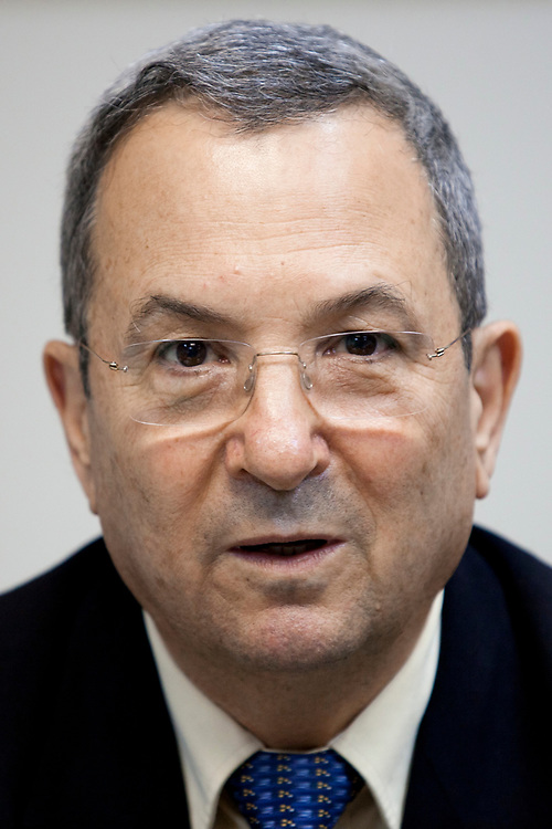 Israel's Defense Minister Ehud Barak attenda the first Atzmaut faction meeting in the Knesset, Israel's parliament, in Jerusalem on May 30, 2011.