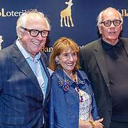 NLD/Utrecht/20180927 - Openingsavond Nederlands Film Festival Utrecht, Gijs van Heijningen en partner Guurtje Buddenberg samen met