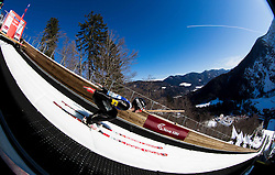 Forejumper Jaka Rus of Slovenia during Ski Flying Hill Team Competition at Day 3 of FIS Ski Jumping World Cup Final 2016, on March 19, 2016 in Planica, Slovenia. Photo by Vid Ponikvar / Sportida