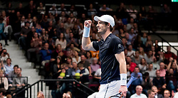 30.10.2016, Stadthalle, Wien, AUT, ATP Tour, Erste Bank Open, Finale, im Bild Andy Murray (GBR) // Andy Murray of Great Britain reacts after the final match of Erste Bank Open of ATP Tour at the Stadthalle in Vienna, Austria on 2016/10/30. EXPA Pictures © 2016, PhotoCredit: EXPA/ Sebastian Pucher