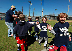 16 February 2013. New Orleans, Louisiana,  USA. .Carrolton Boosters Soccer. Under 8's. The Owls play the Lasers in a 5-2 win. .Photo; Charlie Varley.