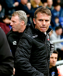 Bolton Wanderers manager Phil Parkinson and Oldham Athletic manager John Sheridan - Mandatory by-line: Matt McNulty/JMP - 15/04/2017 - FOOTBALL - Boundary Park - Oldham, England - Oldham Athletic v Bolton Wanderers - Sky Bet League 1