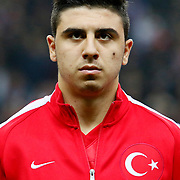 Turkey's Ozan Tufan during their UEFA Euro 2016 qualification Group A soccer match Turkey betwen Kazakhstan at AliSamiYen Arena in Istanbul November 16, 2014. Photo by Kurtulus YILMAZ/TURKPIX