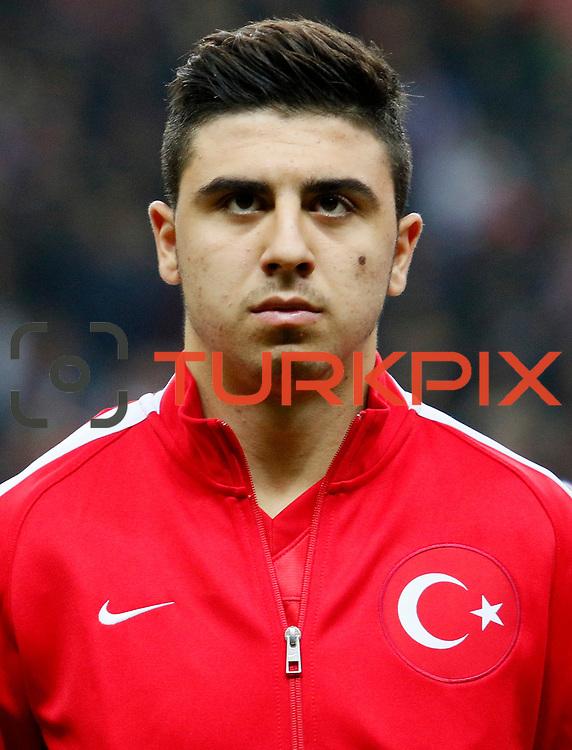 Turkey's Ozan Tufan during their UEFA Euro 2016 qualification Group A soccer match Turkey betwen Kazakhstan at AliSamiYen Arena in Istanbul November 16, 2014. Photo by Kurtulus YILMAZ/TURKPIX