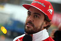 ALONSO Fernando (Spa) Ferrari F14T ambiance portrait during the 2014 Formula One World Championship, Japan Grand Prix from October 3rd to 5th 2014 in Suzuka. Photo Clement Marin / DPPI