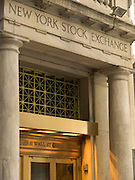 entrance NY stock exchange 11 Wall street