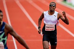 LiemarvinBonevaciaof Netherlands in action on the 400 meter during FBK Games 2021 on 06 june 2021 in Hengelo.