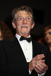 January 28, 2017 - Venise, Italie - JOHN HURT AT THE PREMIERE OF THE FILM 'TINKER, TAILOR, SOLDIER, SPY' - 68TH INTERNATIONAL VENICE FILM FESTIVAL ''LA TAUPE' (Credit Image: © Visual via ZUMA Press)