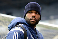 Joleon Lescott during the The FA Cup match between West Bromwich Albion and Gateshead at The Hawthorns, West Bromwich, England on 3 January 2015. Photo by Alan Franklin.