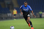 Junior Stanislas of Bournemouth. Capital One Cup, 3rd round match, Cardiff City v AFC Bournemouth at the Cardiff City stadium in Cardiff, South Wales on Tuesday 23rd Sept 2014<br /> pic by Mark Hawkins, Andrew Orchard sports photography.