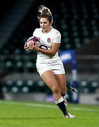 Amy Wilson Hardy of England - Mandatory by-line: Robbie Stephenson/JMP - 04/02/2017 - RUGBY - Twickenham - London, England - England v France - Women's Six Nations