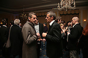 Jeremy irons and Lambert Wilson , Opening Gala of Rendez-Vous with French Cinema. Screening of La Vie En Rose and party afterwards at Claridges. 29 March 2007. -DO NOT ARCHIVE-© Copyright Photograph by Dafydd Jones. 248 Clapham Rd. London SW9 0PZ. Tel 0207 820 0771. www.dafjones.com.