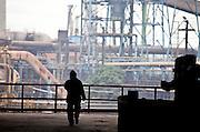 Volta Redonda_RJ, Brasil.<br /> <br /> CSN (Companhia Siderurgica Nacional) em Volta Redonda, Rio de Janeiro.<br /> <br /> CSN (National Steel Company) in Volta Redonda, Rio de Janeiro.<br /> <br /> Foto: JOAO MARCOS ROSA / NITRO