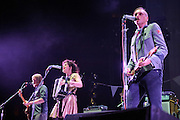 Photos of the Grammy award-winning band the Arcade Fire performing on their 2011 tour for The Suburbs at the Scottrade Center in St. Louis on April 21, 2011.