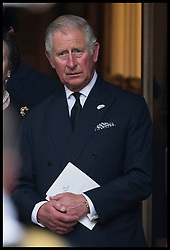 June 27, 2017 - London, London, United Kingdom - Image licensed to i-Images Picture Agency. 27/06/2017. London, United Kingdom. Prince of Wales  leaving  the funeral of Countess Mountbatten of Burma at  St.Paul's church in Knightsbridge, London. Picture by Stephen Lock / i-Images (Credit Image: © Stephen Lock/i-Images via ZUMA Press)