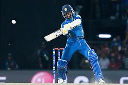 © Licensed to London News Pictures. 07/10/2012. Sri lankan Nuwan Kulasekara during the World T20 Cricket Mens Final match between Sri Lanka Vs West Indies at the R Premadasa International Cricket Stadium, Colombo. Photo credit : Asanka Brendon Ratnayake/LNP