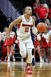 NORMAL, IL - December 08: Josh Jefferson during a college basketball game between the ISU Redbirds and the University of Mississippi (Ole Miss) Rebels on December 08 2018 at Redbird Arena in Normal, IL. (Photo by Alan Look)