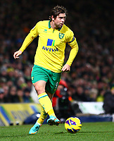 Football - Premier League - Norwich City vs. Sunderland<br /> <br /> <br /> Grant Holt in action for Norwich City at Carrow Road, Norwich