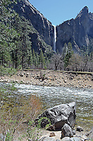 Yosemite National Park, California, USA, waterfall, parkland, 201304181587<br /> <br /> Copyright Image from Victor Patterson, 54 Dorchester Park, Belfast, UK, BT9 6RJ<br /> <br /> Tel: +44 28 9066 1296<br /> Mob: +44 7802 353836<br /> Voicemail +44 20 8816 7153<br /> Skype: victorpattersonbelfast<br /> Email: victorpatterson@me.com<br /> Email: victorpatterson@ireland.com (back-up)<br /> <br /> IMPORTANT: If you wish to use this image or any other of my images please go to www.victorpatterson.com and click on the Terms & Conditions. Then contact me by email or phone with the reference number(s) of the image(s) concerned.
