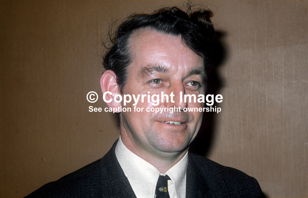 Thomas Seymour, candidate, Vanguard Unionist, Armagh, N Ireland Assembly Election, 1973960000462..Copyright Image from Victor Patterson, 54 Dorchester Park, Belfast, UK, BT9 6RJ<br /> <br /> Copyright Image from Victor Patterson, Belfast, UK<br /> <br /> t: +44 28 9066 1296 (from Rep of Ireland 048 9066 1296)<br /> m: +44 7802 353836<br /> e: victorpattersonbelfast@gmail.com<br /> <br /> www.images4media.com<br /> <br /> Please see my full Terms and Conditions of Use at https://www.images4media.com/p/terms-conditions - it is IMPORTANT that you familiarise yourself with them.<br /> <br /> Images used online incur an additional cost. This cost should be agreed in writing in advance. Online images must be visibly watermarked i.e. © Victor Patterson or that of the named photographer within the body of the image. The original metadata must not be deleted from images used online.<br /> <br /> This image is only available for the use of the download recipient i.e. television station, newspaper, magazine, book publisher, etc, and must not be passed on to a third party. It is also downloaded on condition that each and every usage is notified within 7 days to victorpattersonbelfast@gmail.com.<br /> <br /> The right of Victor Patterson (or the named photographer) to be identified as the author is asserted in accordance with The Copyright Designs And Patents Act (1988). All moral rights are asserted.