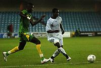 Photo: Tony Oudot.<br /> Ghana v Senegal. International Friendly. 21/08/2007.<br /> Anthony Annan of Ghana