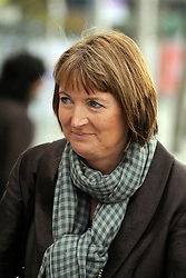"""© under license to London News Pictures. LONDON, UK. 25/02/14 Harriet Harman has said she """"regrets"""" that a civil liberties group she used to work for had links to pro-paedophile campaigners in the 1970s and 1980s. FILE PICTURE DATED 27/09/2011. LONDON, UK. Harriet Harmen. The Labour Party Conference in Liverpool today (27/09/11). Photo credit:  Stephen Simpson/LNP"""