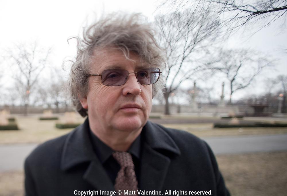 Pulitzer Prize-winning poet Paul Muldoon, poetry editor of the New Yorker