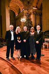 Martin Freeman at a glittering St Paul's Cathedral carol concert to celebrate Childline's 30th anniversary hosted by the NSPCC in the presence of HRH The Countess of Wessex., London England. 13 December 2016.