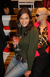 Actress ANYA LAHIRI at Polo Ralph Lauren's Pink Pony Party to launch it's Pink Pony Collection in aid of Cancer Research UK, held at their Fulham Road Store, London on 13th October 2004.<br /><br /> UKNON EXCLUSIVE - WORLD RIGHTS