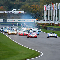Whitsun Trophy, Race 5, Saturday 13h35<br /> Start of race at Goodwood SpeedWeek 16 - 18 October 2020