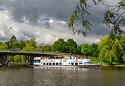 Rzeka Netta - statek wycieczkowy, Augustów.