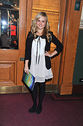TINA O'BRIEN attends the premier of 2012 Cirque du Soleil's Totem at the Royal Albert Hall, London on 5th January 2012,