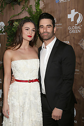 February 20, 2019 - Beverly Hills, CA, USA - LOS ANGELES - FEB 20:  Sophie Skelton, Jeff Gum at the Global Green 2019 Pre-Oscar Gala at the Four Seasons Hotel on February 20, 2019 in Beverly Hills, CA (Credit Image: © Kay Blake/ZUMA Wire)