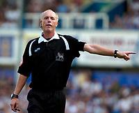 Photo: Ed Godden.<br /> Portsmouth v Liverpool. The Barclays Premiership. 28/04/2007. Referee Peter Walton.