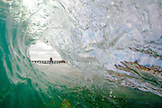 Pier Tube Wave in San Clemente