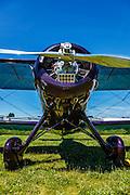 1935 Waco YPF-6 at WAAAM.