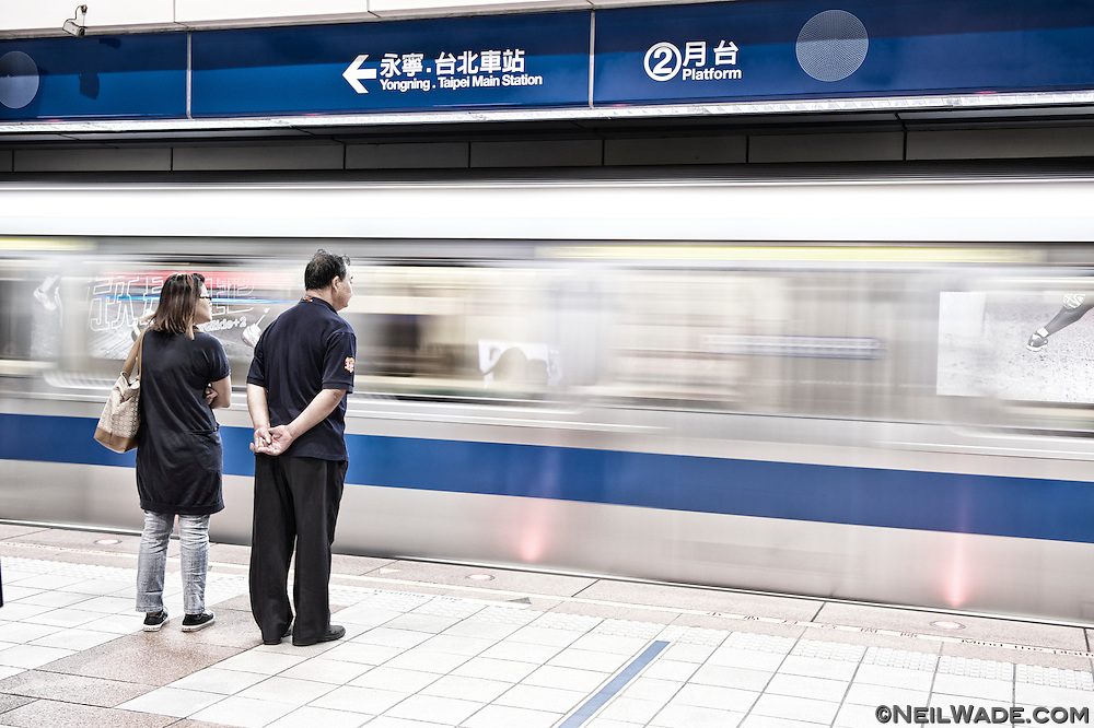 Trains come every 3-5 minutes on the main lines during rush hours.