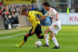 22.10.2011, SIGNAL IDUNA Park Dortmund, Dortmund, GER, 1.FBL, Borussia Dortmund vs 1. FC Köln / Koeln, im Bild Mario Götze / Goetze (Dortmund #11) gegen Christian Eichner (Koeln #4)...// during the 1.FBL,  Borussia Dortmund vs 1. FC Köln / Koeln on 2011/10/22,  SIGNAL IDUNA Park Dortmund, Dortmund, Germany. EXPA Pictures © 2011, PhotoCredit: EXPA/ nph/  Herbst       ****** out of GER / CRO  / BEL ******