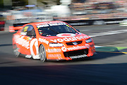 Jamie Whincup in action during  Race 5 of the ITM 400 Hamilton,Hamilton Street Circuit, Day Two, Hamilton City ,V8 supercars,, Photo: Dion Mellow / photosport.co.nz