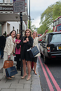 SILVIA BRUTTINI, The Foreign Sisters lunch sponsored by Avakian in aid of Cancer Research UK. The Dorchester. 15 May 2012