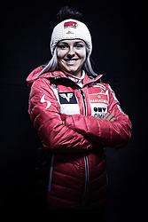 12.10.2019, Olympiahalle, Innsbruck, AUT, FIS Weltcup Ski Alpin, im Bild Chiara Hölzl // during Outfitting of the Ski Austria Winter Collection and the official Austrian Ski Federation 2019/ 2020 Portrait Session at the Olympiahalle in Innsbruck, Austria on 2019/10/12. EXPA Pictures © 2020, PhotoCredit: EXPA/ JFK