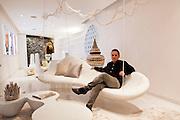 Iniala Luxury Residence founder Mark Weingard  in the Villa Siam by Eggarat Wongcharit, Thailand