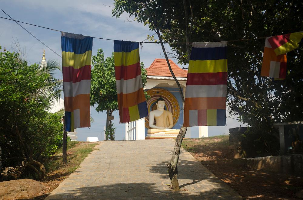 A temple in Unawatuna, Sri Lanka